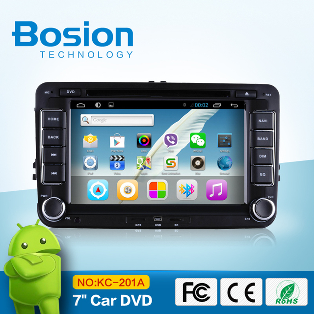 Android Car cassette and cd dvd and gps for VW stereo multimedia radio GPS DVD player