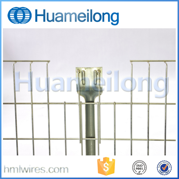China Warehouse Welded Inverted Step Steel Wire Mesh Pallet Decking For Pallet Racking