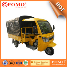 Top-Rated Three Rubber Wheel Motor Made in Chongqing China with Tricycle Cab