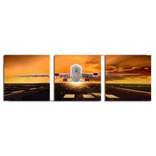 High Quality Wall Canvas Art Sets 3 Panels Flower Canvas Paintings for Wholesale