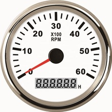 Motorcycle Car Boat 85mm Diesel Gasoline Engine Tachometer RPM <strong>Meter</strong> 0-6000RPM