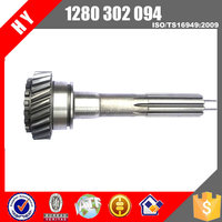 Factory price yutong bus qj805 transmission Spigot Shaft for KINGLONG bus 1280302094/1280 302 094