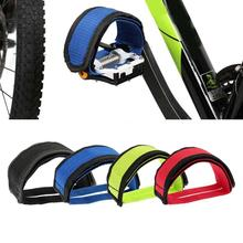 4 Colors Cycling Pedals Exercise Bike Pedal Strap Bike Bicycle Parts