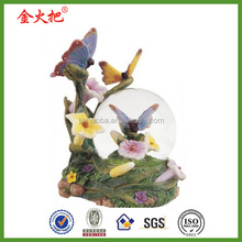 Vivid butterfly water globe and snow globe custom