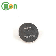 3V 100mAh High Temperature Button Cell Battery BR2020 with Bulk Package
