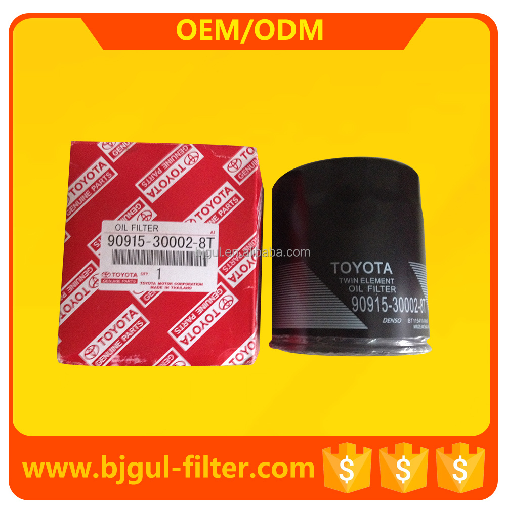 wholesale original toyota car oil filters 90915-30002 90915-30002-8T thailand