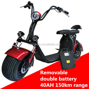 18*9.5 inch Big Space Electric Citycoco Mobility Scooter Powerful 2000W 72V