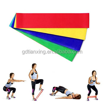 Wholesale Fitness equipment Latex Loop Resistance Band, Latex Exercise Loop Bands