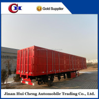 china hot sale 3 Axle Dry Van Semi Trailer,Cargo Box Trailer for sale
