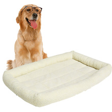Comfortable Soft Padded Pet Bolster Dog Bed