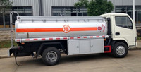 6300L Fuel tanker truck /Dongfeng 4x2 Fuel tank truck hydraulic oil tanker /mobile gas station