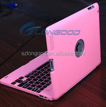 Wireless Bluetooth Keyboard Stand Case Cover For iPad 234