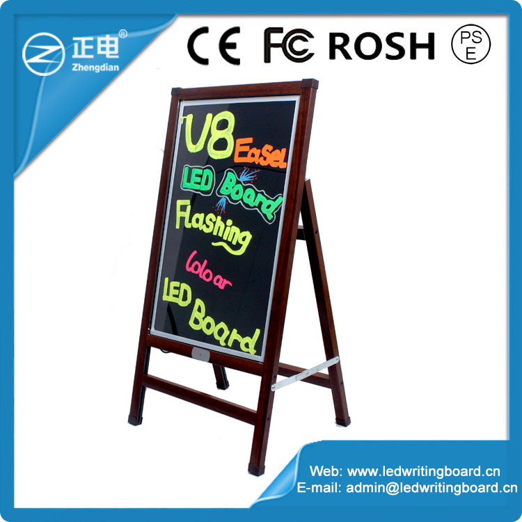 New invention magnetic advertising display board outdoor mobile led advertising board with stand