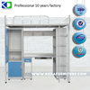 manufacturer direct sale stainless steel double bunk bed