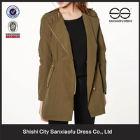 Latest Fashion Brown Coat Women, Plus Size Women Clothing, Winter Bulk Clothing For Sales