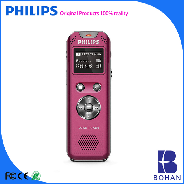 PHILIPS Voice Activated Digital Tape Recorder with MP3 WAV Format