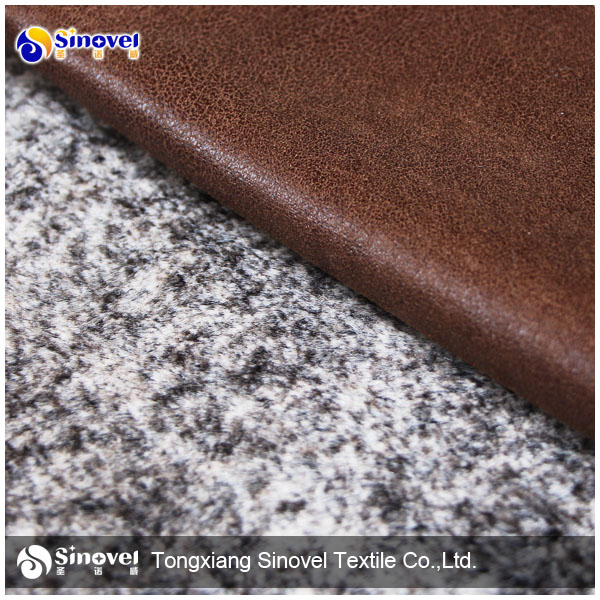 artificial suede leather for coat