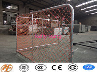 Haotian 1.2m chain link orange security barrier for Newzealand factory