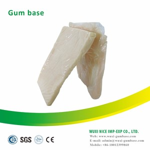 LIFU brand gum base for making center filled bubble gum