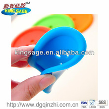 soft button shape silicone coffee cup mat