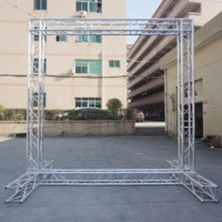 Used aluminum moving head light truss stands stage roof truss systems