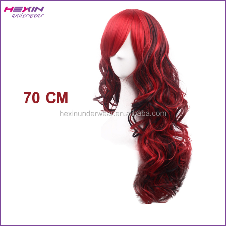 70CM Hair Extensions Wig Permanent Human Hair Wigs
