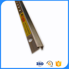 OEM Design SS304 Stair Nosing Metal Profile