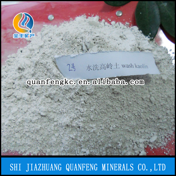 Factory Supply Derectly Raw Chemical Material Washed Kaolin