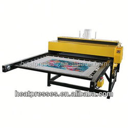 Double layer high pressure Pneumatic sublimation textile printer with CE certification