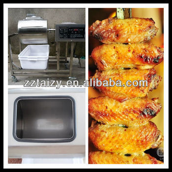 Automatic Chicken wings salting machine/Chicken wings bloating machine with competitive price(0086-13503826925