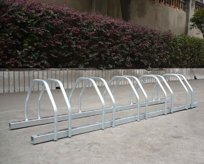 5 Bike Floor Stand Secure bicycle Parking Storage Rack Storage