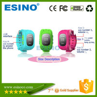 GPS child watch with phone calling, kids cell phone watch with sos button, kids gps watch phone with monitoring