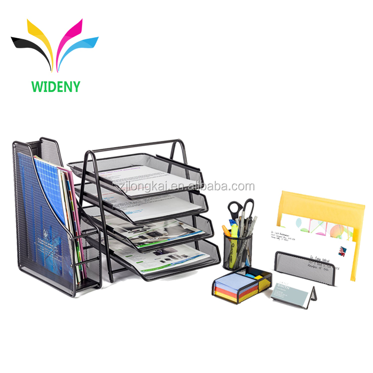Metal Office Gift Iron mesh office stationery for school supplies