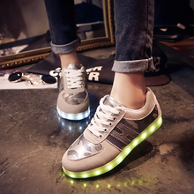USB Rechargeable Color Flashing Led shoes in agra
