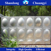Square Water Storage Tank/SS304 stainless steel drinking water tank