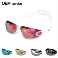 Silicone Advanced Swim Goggles With Anti