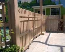 cheap yard plastic coated bamboo fencing