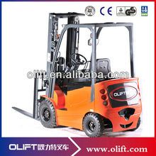 1.6tons-3.0tons Four-wheel electric rider forklift(with CE)