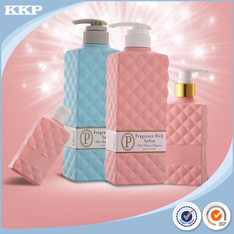 2017 high quality shampoo plastic bottle 16 oz
