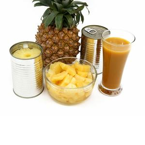 Canned pineapple in light syrup