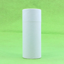 pure black or white paper packaging gift paper tube box