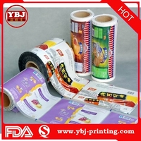 low price Food Packaging Plastic Roll Film Printed Plastic Film Roll For Cookie Biscuit /Laminating Food Grade Film Roll