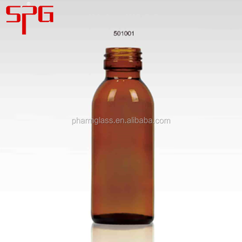 China wholesale STD PP 28mm 100ml amber round glass vials
