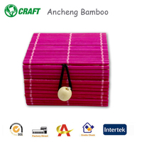2016 New Products Jewelry With Lock Gift Box Bamboo