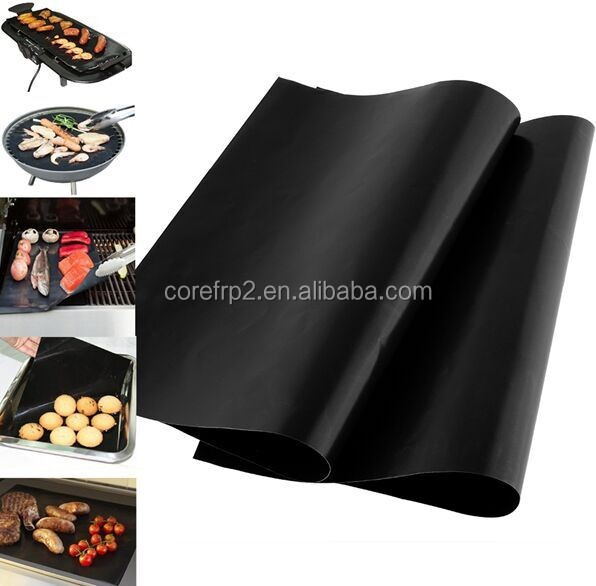Reusable Easily Cleaned BBQ baking grill sheet