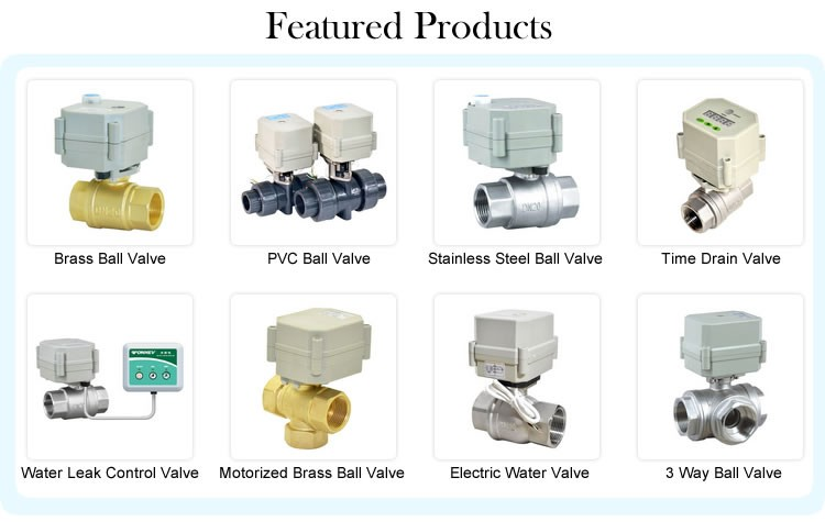 A150-T15-S2-B DN15 DC12v DC24v CR201 3 pcs pieces high pressure motorized valve