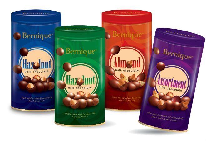 Bernique Tin Chocolate- 105g
