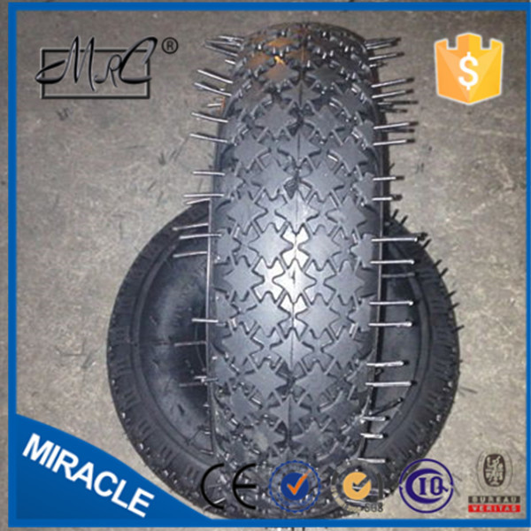 heavy duty tractor rubber wheel tyre , wheelbarrow tyre 4.00-4