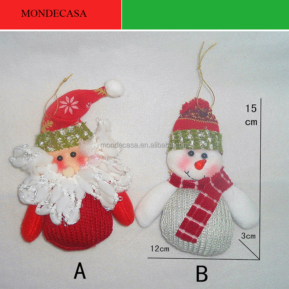 china supplier plush christmas tree ornaments handmade christmas toys