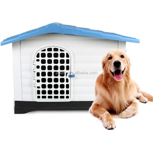 Pet Waterproof Plastic Dog Kennel Outdoor Winter House (Large)
